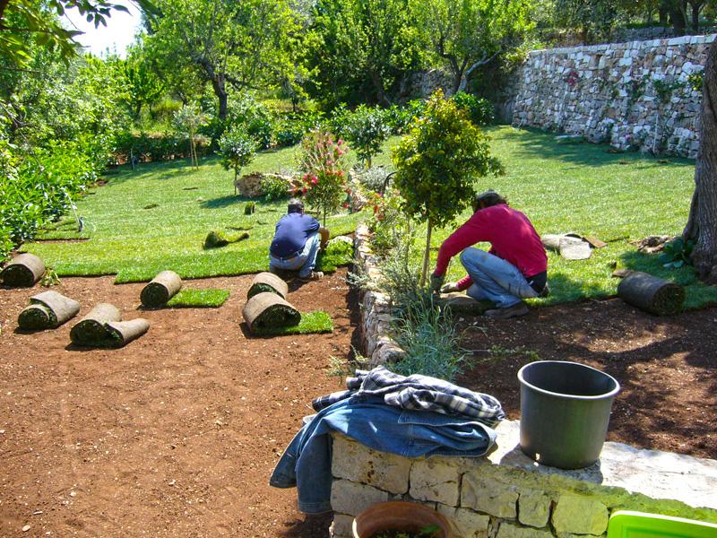 Lavorazione Giardini