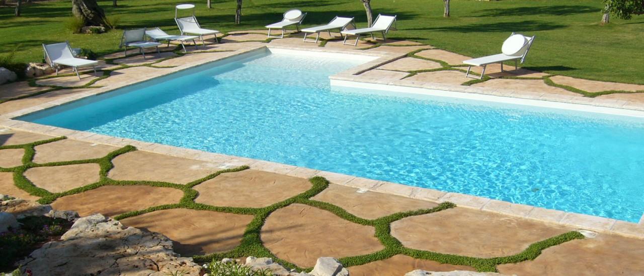 Verde in piscina