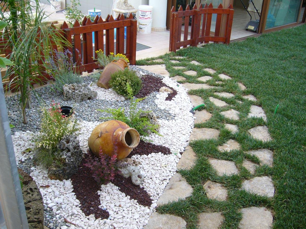 Giardini a ghiaia centro verde giardini - Giardini con ghiaia e sassi ...